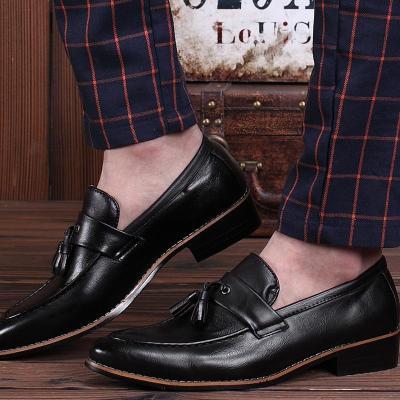 Mens Classic Vintage Decor Comfy Loafers