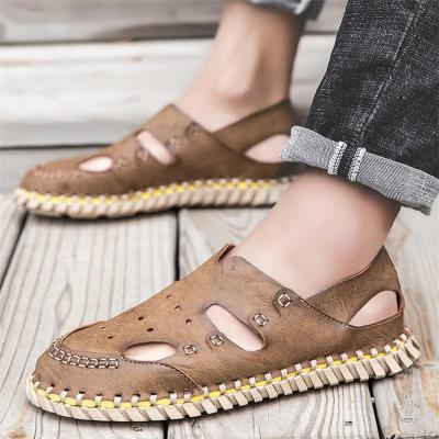 Mens Non Slip Stitching Breathable Soft Sole Casual Sandals