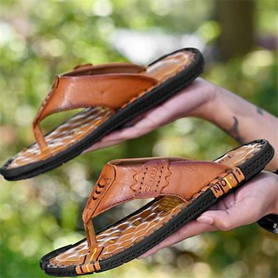 Mens Slip Resistant Comfy Soft Sole Personality Flip Flop