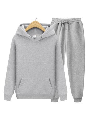 Mens Warm Fashion Casual Sports Hoodies+Pants