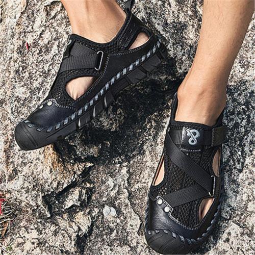 Mens Casual Non Slip Soft Outdoor Mesh Sandals