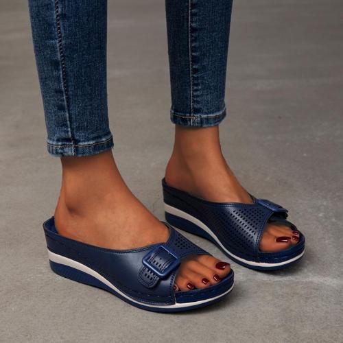 Women's Casual Style Platform Wedge Heel Sandals Slippers
