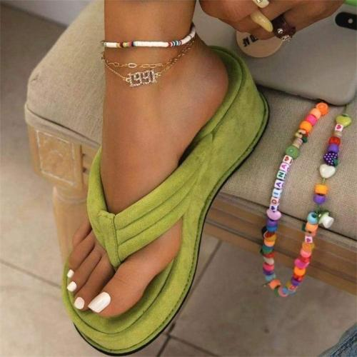 Fashion Lightweight Non-Slip Wear-Resistant Flip Flops Sandals Slippers