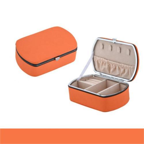 Simple Style Portable Jewelry Storage Box