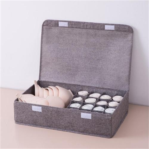 Simple Style Household Compartment Storage Box