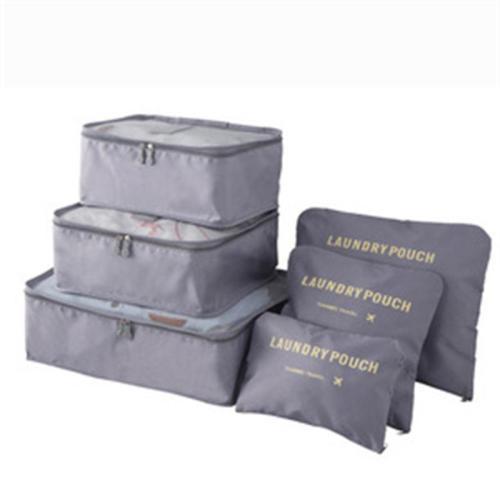 Six-Piece Set Fashion Travel Oxford Cloth Storage Bag