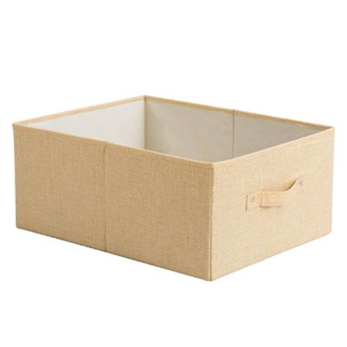 Drawer-Type Foldable Storage Box Without Lid