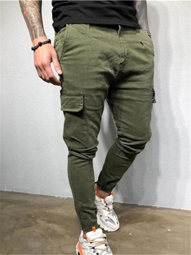 Mens Gym Slim Fit Hip Hop Ankle Pants