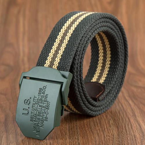 Outdoor Stretch Woven Belt-Fabric Casual Belt