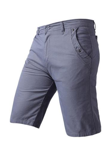 Mens Casual Vertical Solid Color Training Shorts