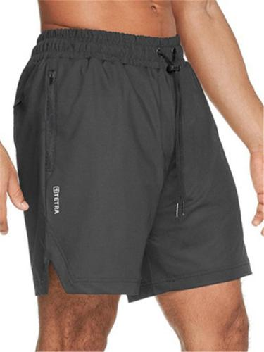 Mens Running Vertical Quick Dry Training Sports Shorts