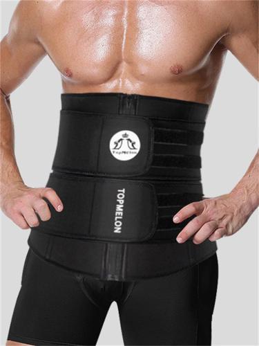 Men's Fitness Super Elastic Double Velcro Fat Burner Shapewear