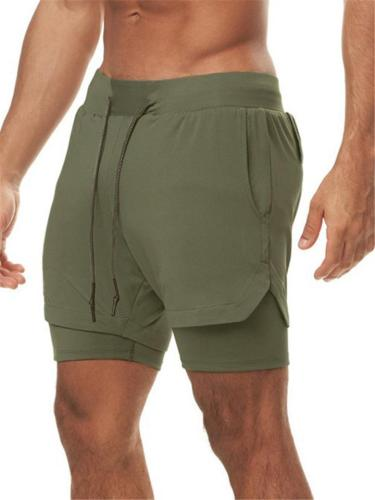 Mens Breathable Outdoor Running Sports Shorts