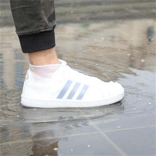 Unisex Fashion Portable Waterproof Non-Slip Wear-Resistant Bottom Rain Boot Cover
