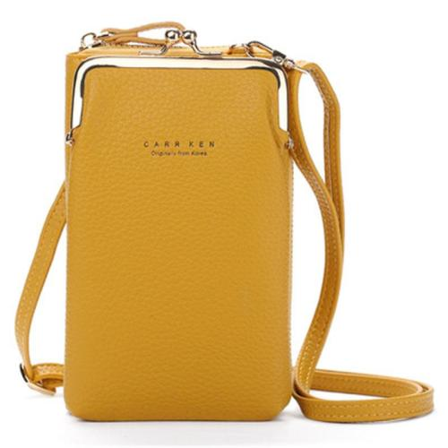 Simple Fashion Style Large-Capacity Solid Color Crossbody Bag