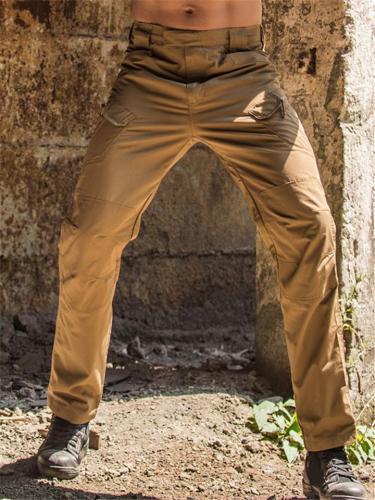 Mens Outrdoor Breathable Elastane Tactical Cargo Pants