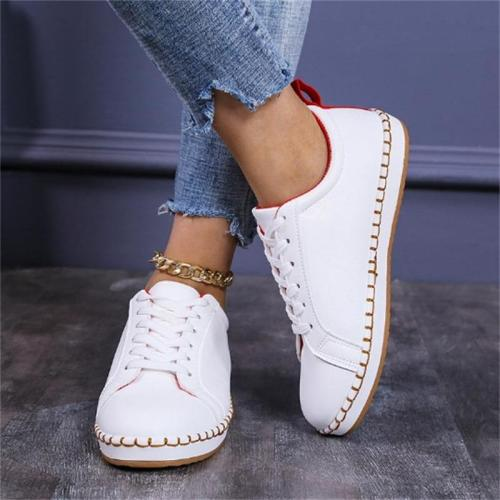 Unisex Summer Fashion Breathable Lace-Up Design Loafers