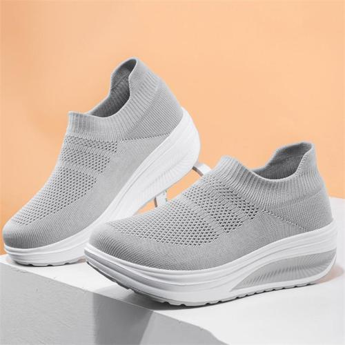 Fashion Casual Platform Sports Lightweight Breathable Shoes