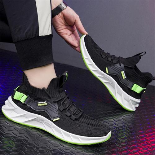Mens Breathable Patchwork Casual Sports Hipster Shoes
