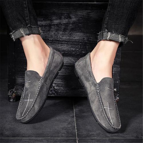 Fashion Soft  Non Slip Breathable Wearble Solid Color Casual Loafers