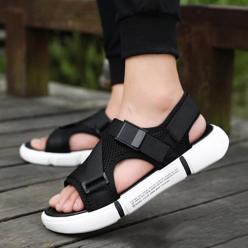Fashion Patchwork Personality Non Slip Breathable Casual Board Sandals