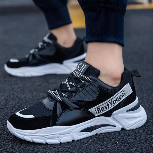 Non Slip Running Breathable Patchwork Casual Sports Shoes