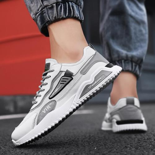 Fashion Breathable Personality Lace Up Casual Comfy Sneakers