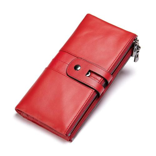 Anti-Theft RFID Blocking Vintage Cash Cards Wallets For Women