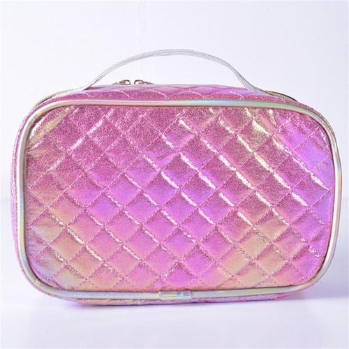Fashion Rhombus Shape Design Cosmetic Storage Bag Handbag