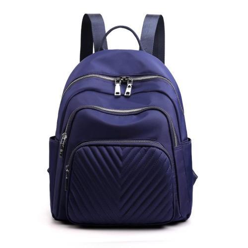 Great Simple Design Single Flat Top Handle All-Around Zip Fastening Backpack