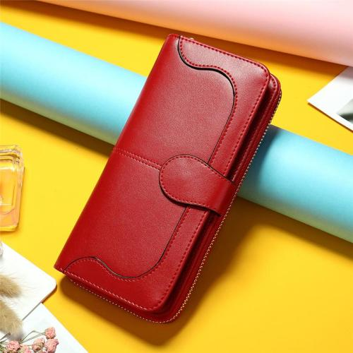 Womens Cute Small Fashion Personality Leather Wallets