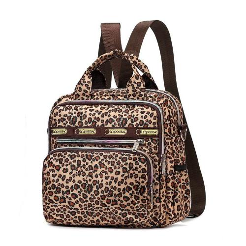 Stylish All-Over Floral Print Two-Way To Carry Crossbody Bag Lightweight Backpack