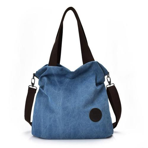 Vintage Style Multiple Compartment Adjustable Shoulder Strap Top-Handled Casual Bag