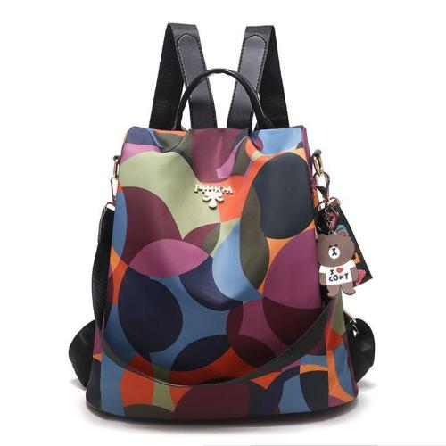 Casual Style Two-Way Anti-Theft Design Large Capacity Lightweight Backpack