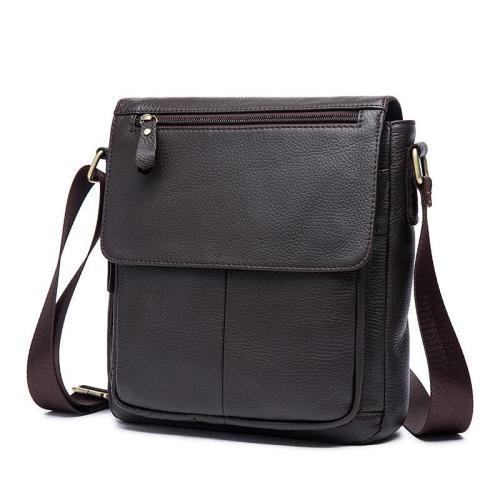 Simple Style Casual Soft Leather Sling Shoulder Bag Crossbody Bag