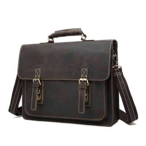 Vintage Personality Durable Sling Shoulder Bag Leather Crossboday Bag