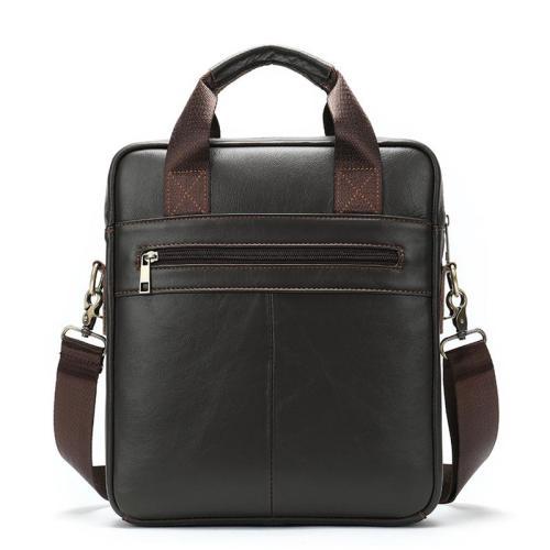 Waterproof Business Simple Style Chunky Sling Shoulder Bag Trip Leather Crossbody Bag
