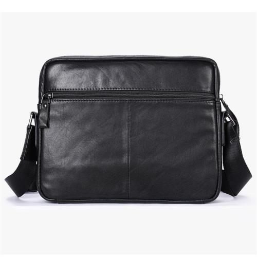 Lightweight Large Capacity Vintage Soft Leather Business Casual Durable Briefcase Handbag