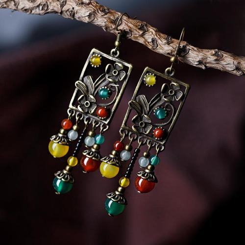 Vintage Elegant Fashion Knitted Pendant Drop Dangle Earrings