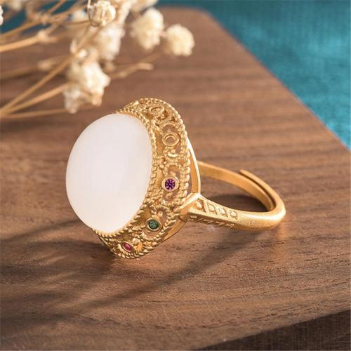 Innovative Trendy Vintage Personality Chunky Adjustable Ring