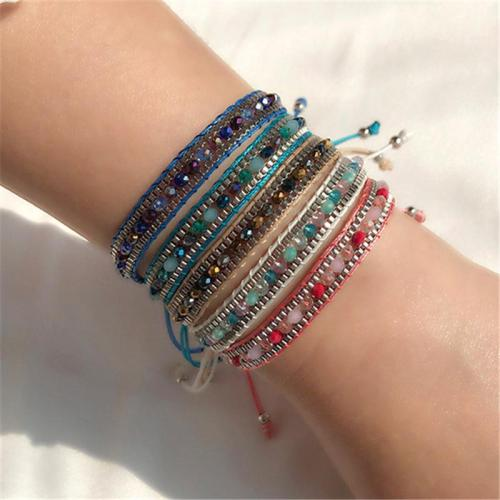 Women's Fashionable Handknitted Vintage Style Adjustable Bracelet