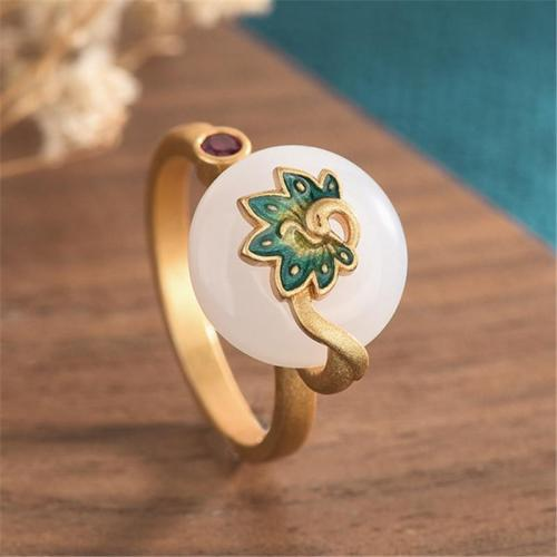 Classic Vintage Decor Stud Chunky Casual Finger Ring