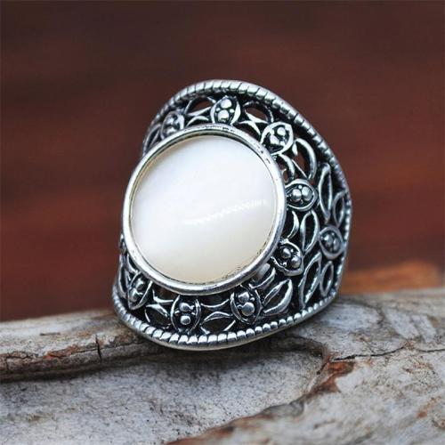 Women's Retro Style Creative Opal Ring
