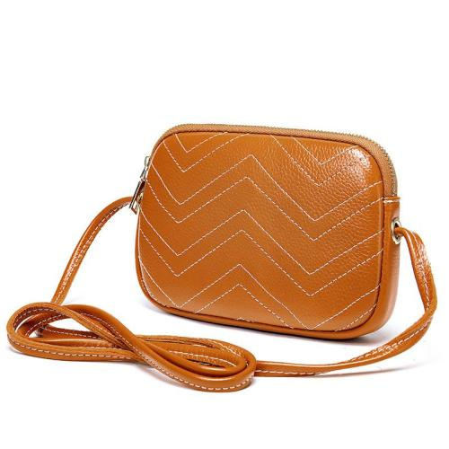 Womens Lightweight Casual Dating Street Trendy Leather Sling Shoulder Bag