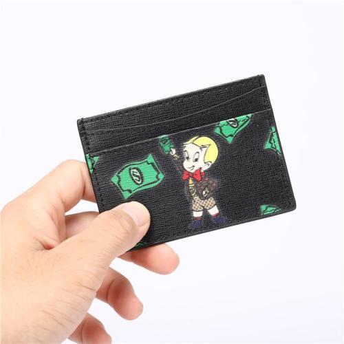 Womens Lightweight  Mini Casual Card Holder With Cartoon Print