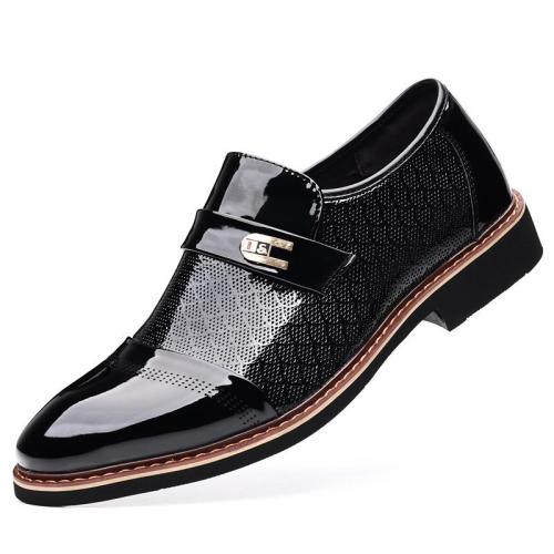 Stylish Breathable Business Casual Slip On Dress Shoes