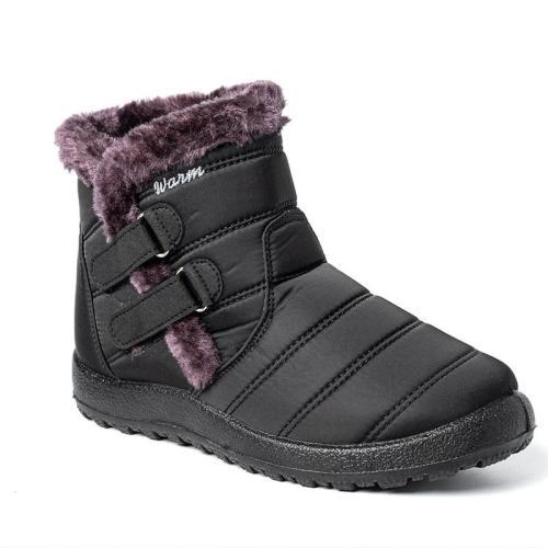 Super Warm High-Top Non-Slip Velcro Waterproof Snow Boots