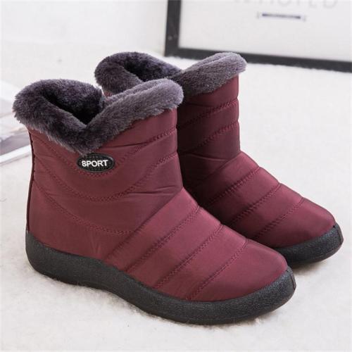 Ultra-Warm Side Zipper Fashion Waterproof Lightweight Snow Boots