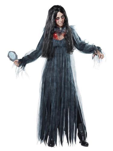 Scary Ghost Bride Zombie Costume Bar Masquerade Halloween Costume