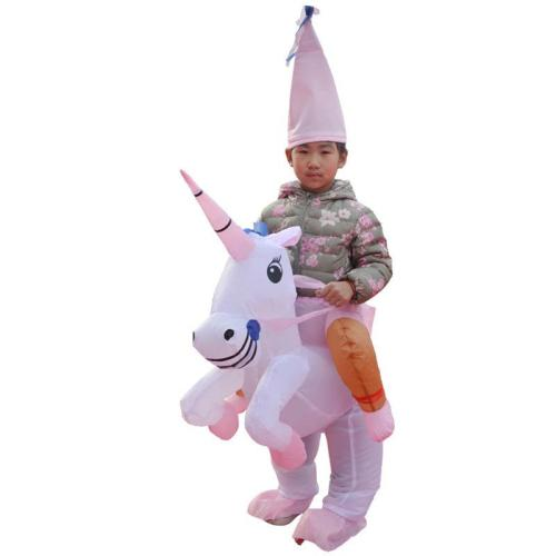 Inflatable Dinosaur Costume Riding On Dinosaur Suit For Halloween Christmas